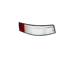(New) 911 Italian Right Side Tail Light Lens with Black Trim - 1973-89