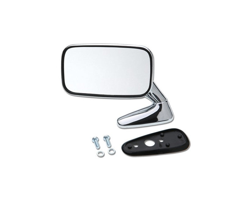 (New) 911 Left Side Chrome Flag Mirror - 1971-73
