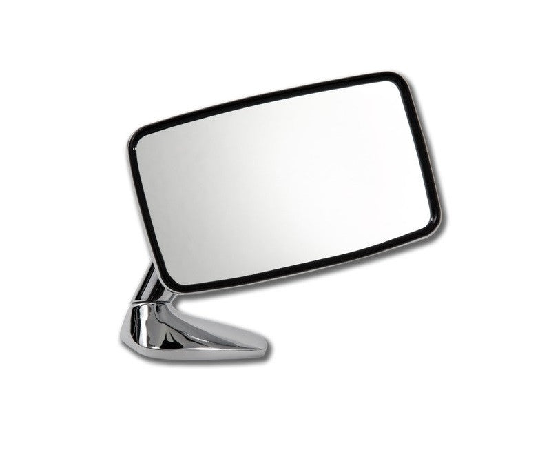 (New) 911/912E Right Side Chrome Flag Mirror - 1974-76