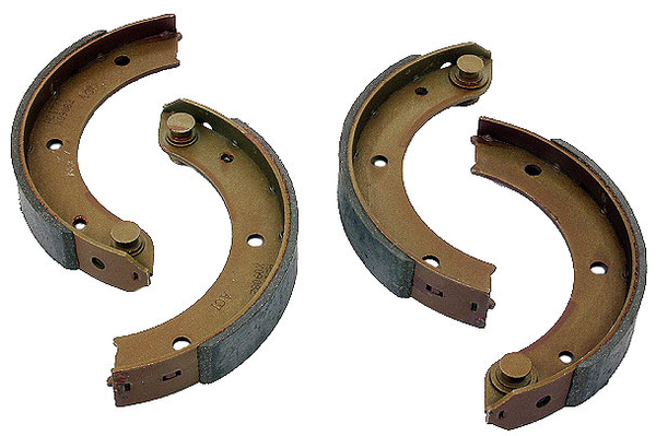 (New) 911/912/930 Left and Right Rear Parking Brake Shoe Set - 1965-89