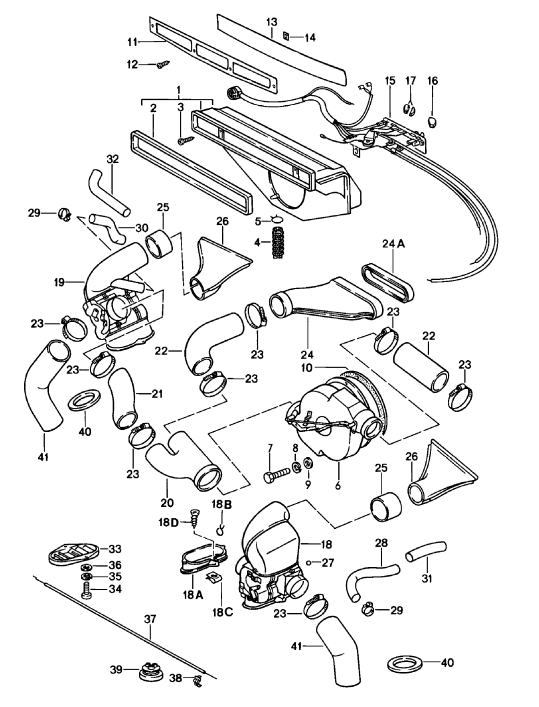 New 911 Air Box Connecting Flange 197489: Porsche 993 Turbo Wiring Diagram At Hrqsolutions.co