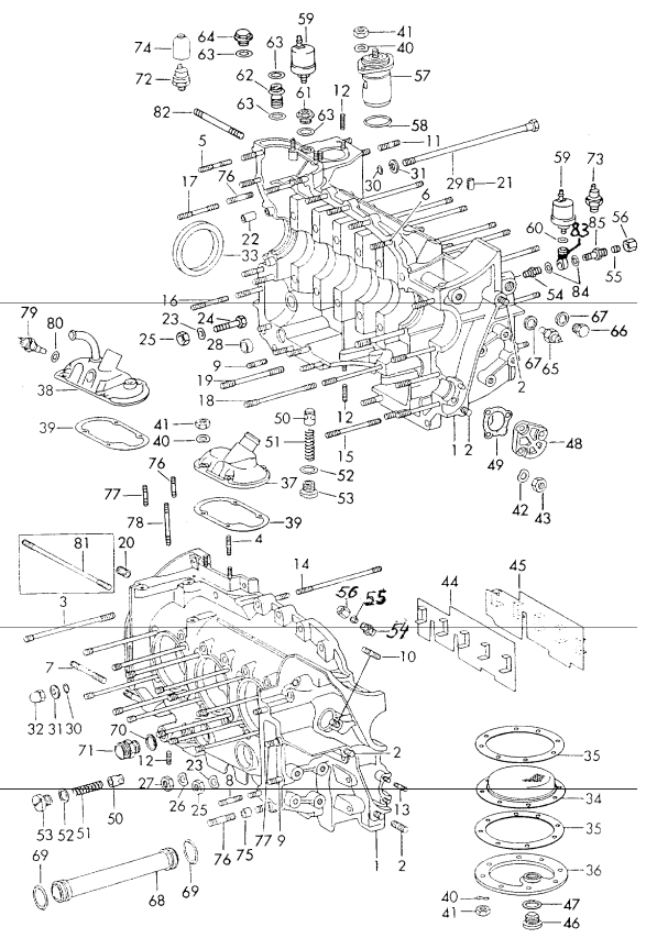 aase sales porsche 911  912   u0026 930 engine and transmission page 9