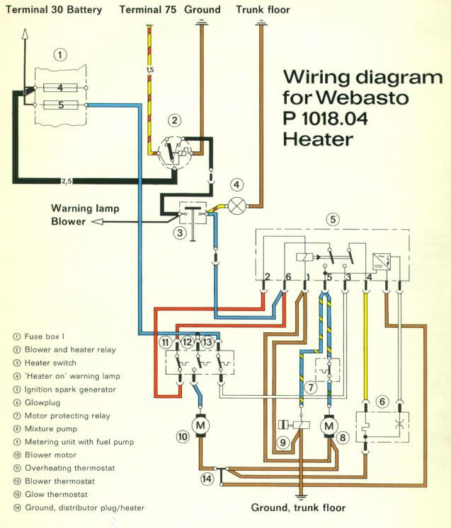 webasto heater wiring diagram new  webasto heater exhaust pipe and muffler set 1965 76 aase  webasto heater exhaust pipe and muffler