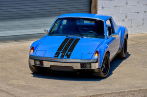 (New) '914' Single-Colored Front Hood Decal - 1970-76