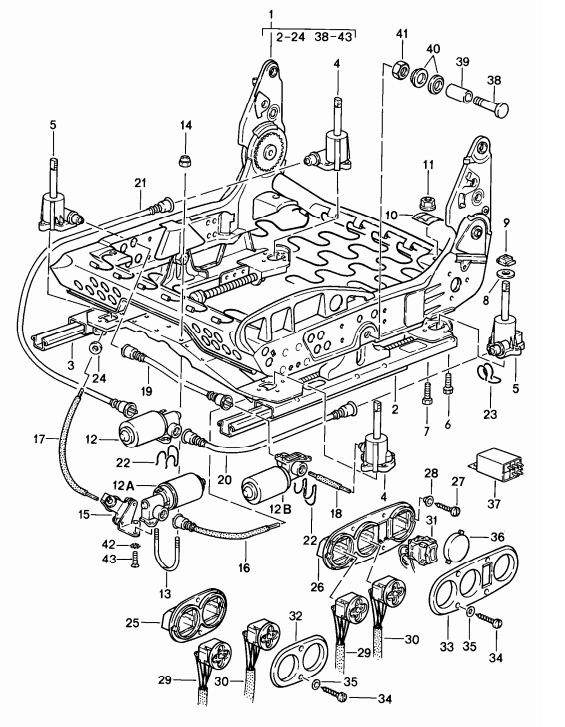 New 911928944968 Power Seat Switch 198495: Porsche Air Conditioning Wiring Diagram At Johnprice.co