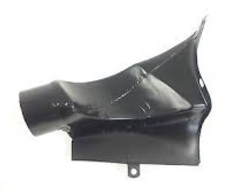 (New) 911 Hot Air Duct Left Rear 1968-89
