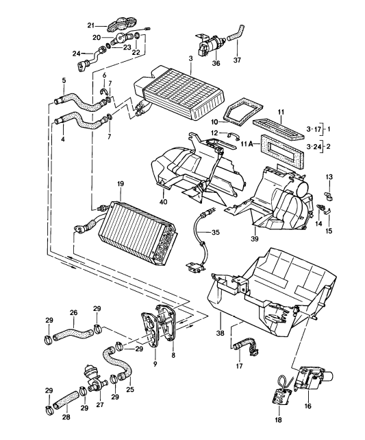 diagram porsche 928 1978 engine