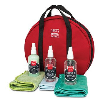 (New) Traveling Car Care Kit