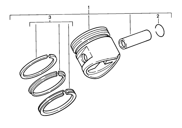 (New) 944/928 Piston Ring Set 1985-91