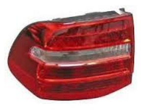 (New) Cayenne Taillight Assembly with Bulb Holder Left 2008-11