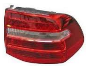 (New) Cayenne Taillight Assembly with Bulb Holder Right 2008-11