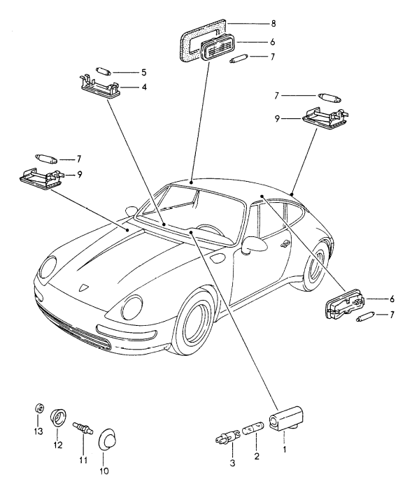 (New) 911/Boxster/Cayman Trunk and Engine Compartment