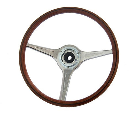 (New) 356 B/C Carrera 2000 Wooden Steering Wheel - 1959-65