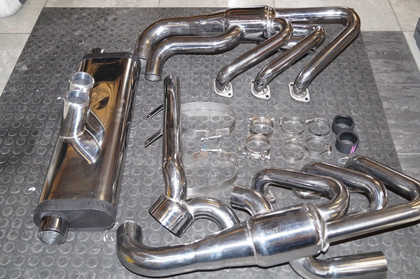 (New) 911/964/993 Full Stainless Steel Exhaust System - 1984-98