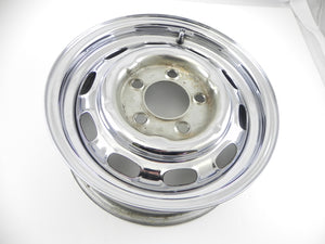 (Used) 356/911/912 Factory 5.5jx15 Chrome Steel Wheel