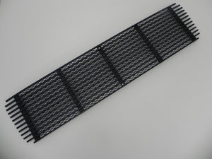 (Used) 911 Porsche Black 5 Bar Engine Lid Grille - 1972-73
