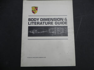 (Used) Body Dimension & Literature Guide