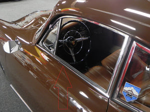 (New) 356 B/C Coupe Concours Chrome Door Top Trim Set - 1959-65