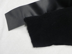 (New) 911/912E/930 Black Plush Silverknit Door Pocket Carpet Kit - 1974-94