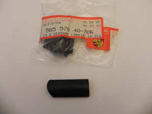 (New) 911 Targa Black Rear Window Trim Clip Right - 1974-89