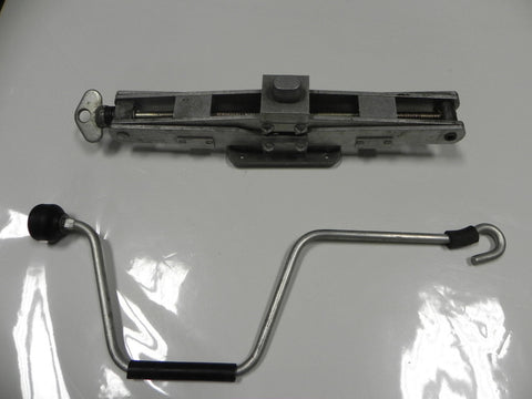 Aluminum Jack fits 924, 944, 944 Turbo 1976-89 with handle/crank*