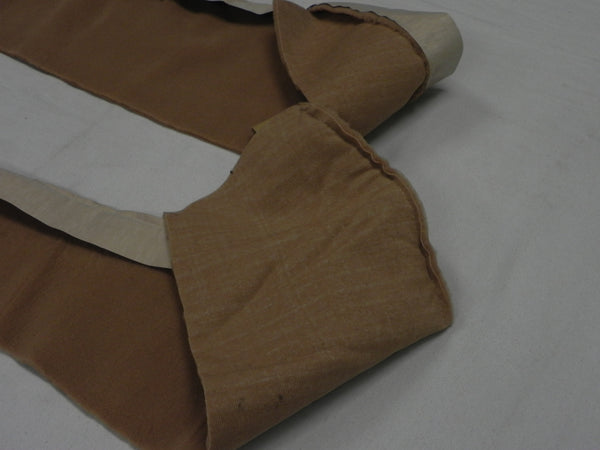 (New) 911/912E/930 Cashmere Beige Door Pocket Carpet Kit - 1974-94