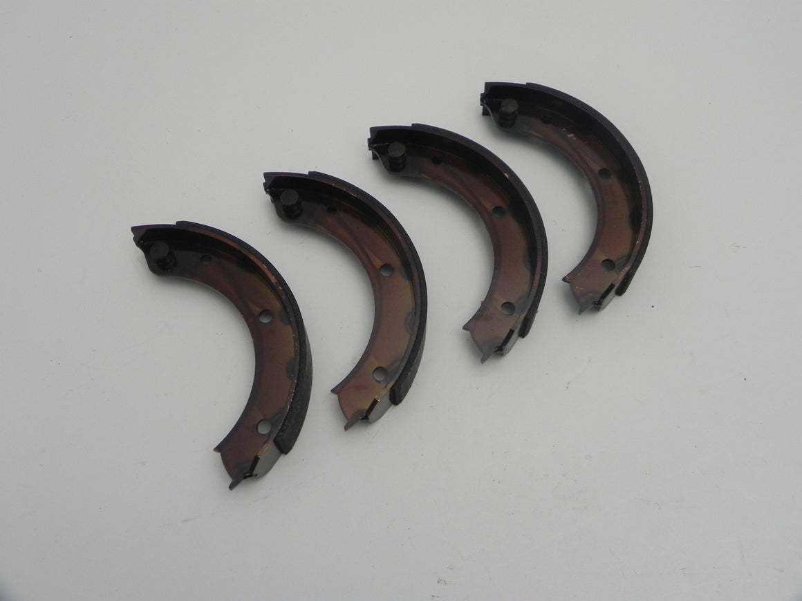 (New) 356C/SC/911/912 Complete Set of Parking Brake Shoes - 1964-68