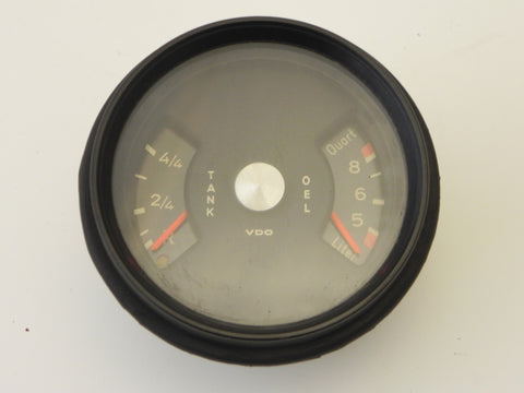 (NOS) 911 Fuel Oil Gauge 1970-71