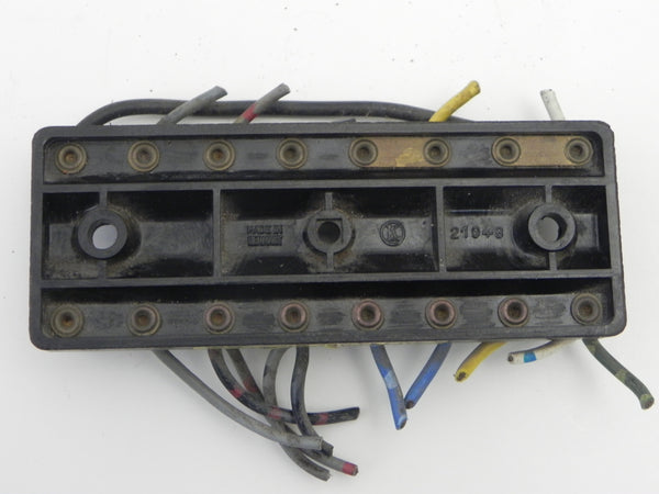 (Used) 911/930 8 Pole Fuse Block without Lid* - 1974-89