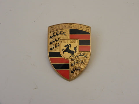 (Flawed) 911/912 Orange Bar Hood Crest - 1965-74