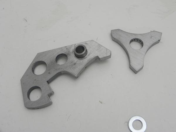 (New) 356 Thick Front Hood or Engine Lid Hinge Repair Kit - 1950-65