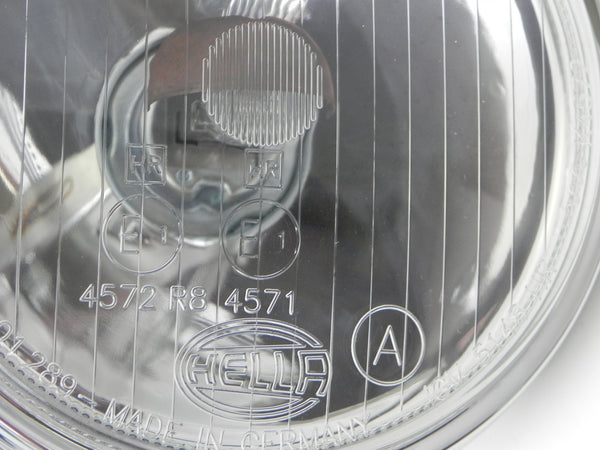 (New) 911/912 Hella 118 Additional Clear Driving Light and Optional Grille Kit - 1965-73