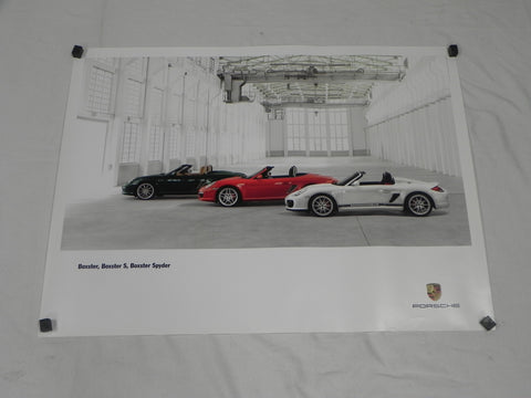 (New) Boxster / Boxster S / Boxster Spyder Poster