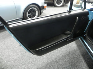 (New) 911 Door Top Rail Left Black Leatherette 1974-86