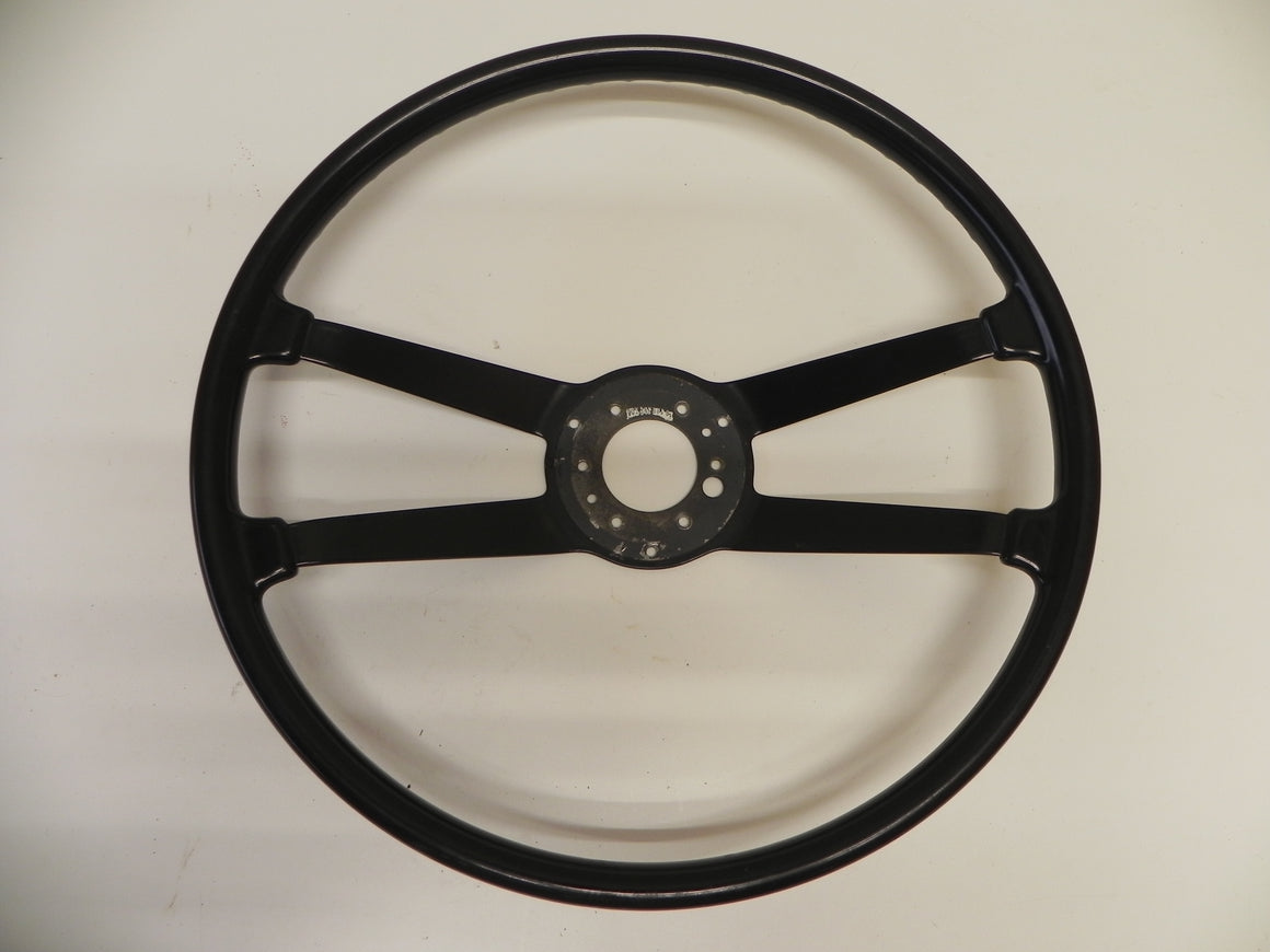 (Used) 911/912 SWB 420mm Hard Rubber Steering Wheel 1965-68