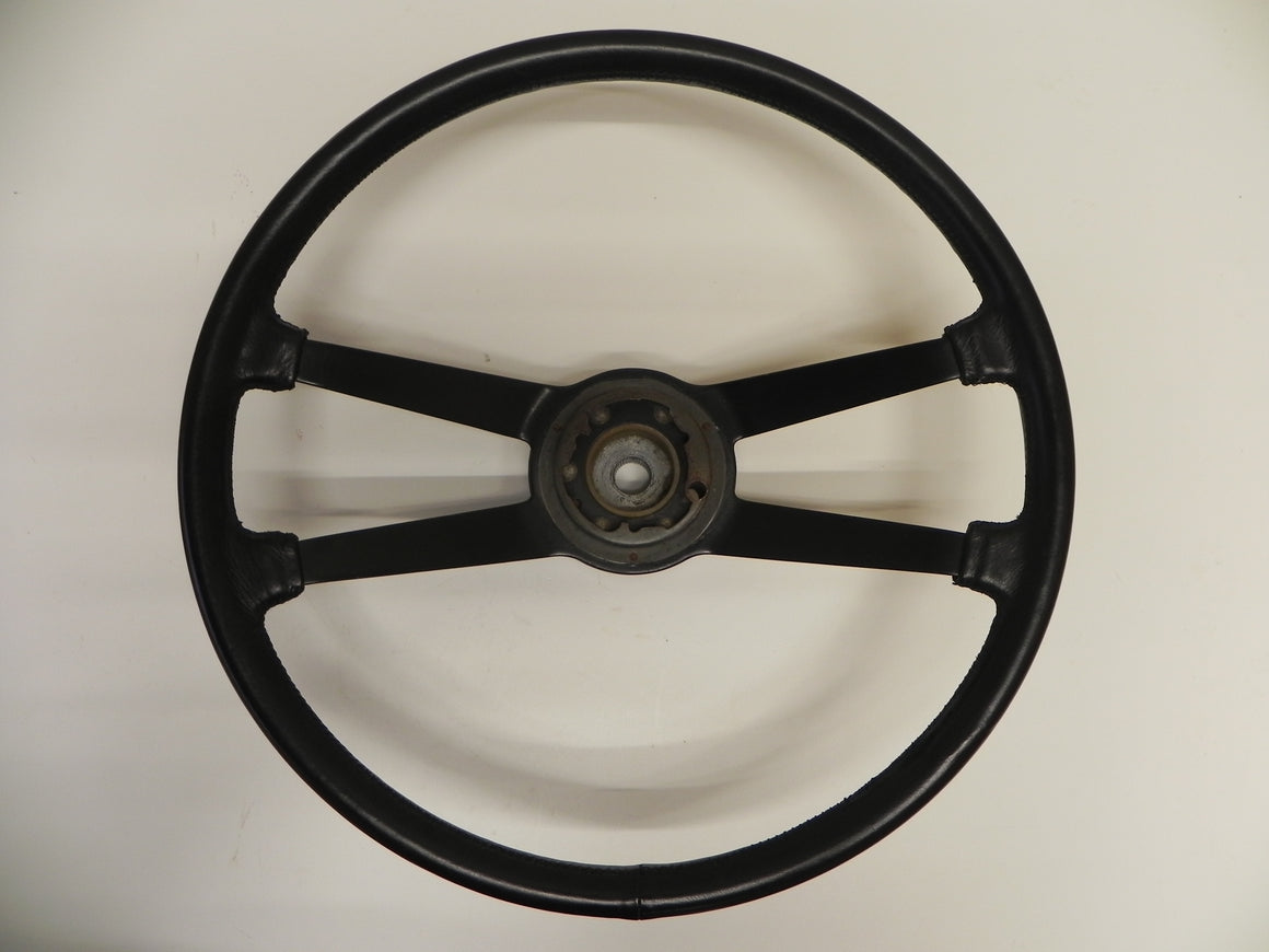 (Used) 911 420mm VDM Leather Steering Wheel with Extended Hub 1965-69