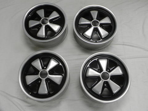 (Refinished) 911/912 Set of Year Matching Early 6j x 15 Fuchs Wheel Forged Alloy