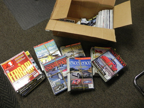 (Used) Collection of Excellence and F1 Magazines