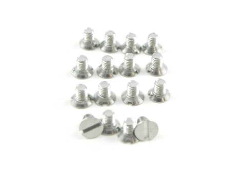 (New) 356 Coupe Quarter Window Frame Screw Set - 1950-65