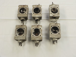 (Used) 911T Complete Set of 6 MFI Cylinder Heads - 1972-73