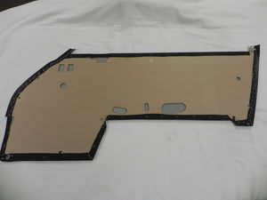 (New) 911 Door Panels Black Basketweave Leatherette 1969-71
