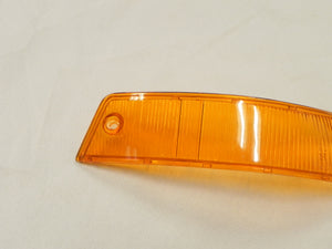 (New) 911/912 Euro Amber/Clear Front Right Turn Signal Lens - 1965-68