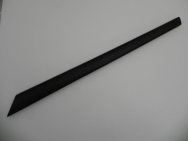 (New) 911 Door Top Rail Right Black Leatherette - 1974-86