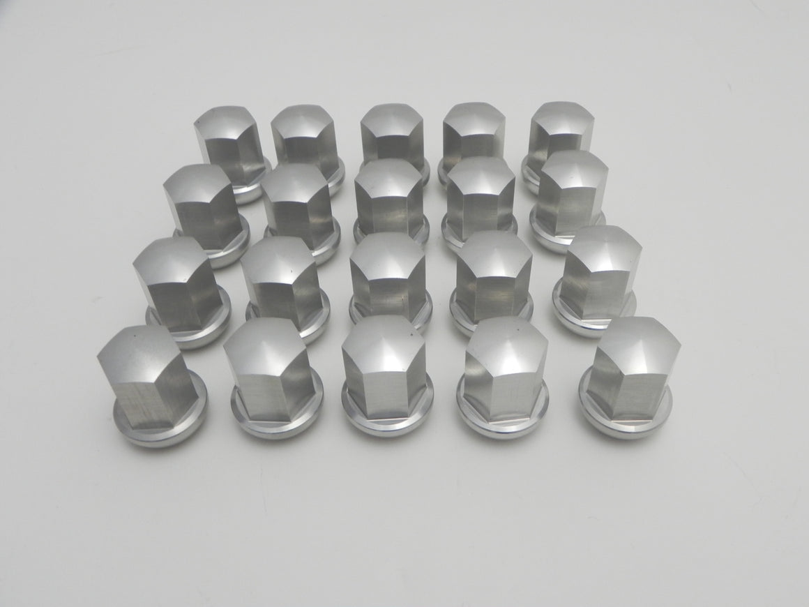 (New) Set of 20 Anodize-Look Alloy Lug Nuts - Fuchs Wheel