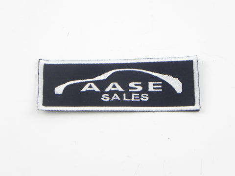 (New) Aase Sales Embroidered Patch