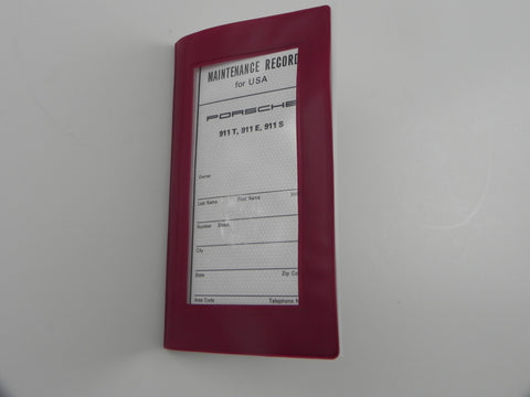 (New) 911 T/E/S Maintenance Manual and Insert Papers - 1973