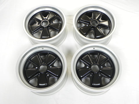 (Refinished) 911/930 Complete Set of Fuchs of Wheels - 7j x 15 & 8j x 15 - 1974-89
