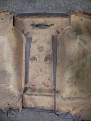 (Used) 914 Interior Rear Panel - 1972-76