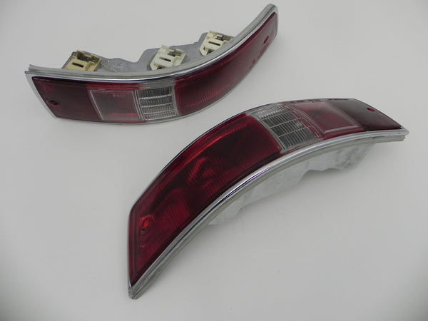 (Original) 911 or 912 USA Taillight Lens Assembly Pair - 1965-68