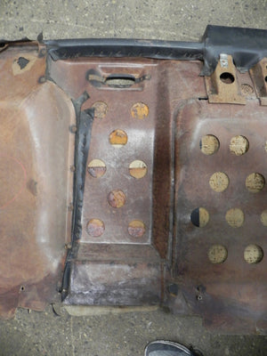 (Used) 914-6 Interior Rear Panel - 1970-71